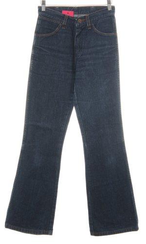Wrangler High Waist Jeans dunkelblau Casual-Look