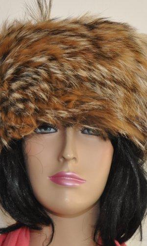 Chapeau en fourrure bronze pelage