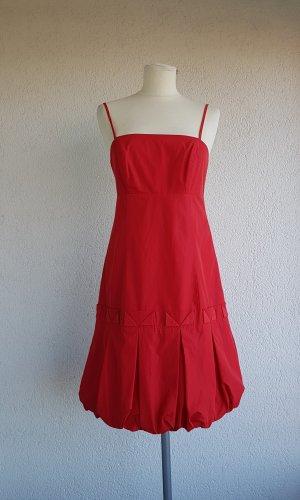 Zero Robe ballon rouge tissu mixte