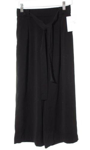Zara 7/8-Hose schwarz Business-Look