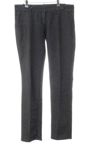 Zara Basic Anzughose hellgrau meliert Business-Look