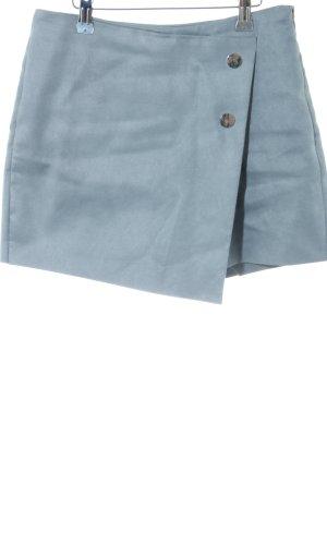 Zara Basic Broekrok blauw casual uitstraling