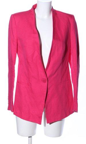 Zara Basic Long-Blazer pink Elegant