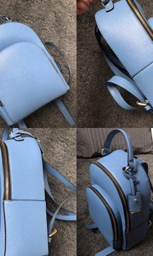 Zara Sac à dos pour ordinateur portable bleu azur