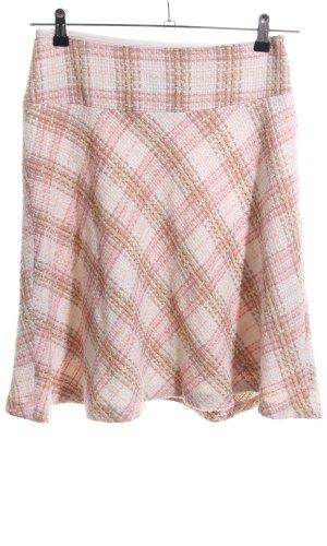 Zara Basic Wollen rok geruite print elegant