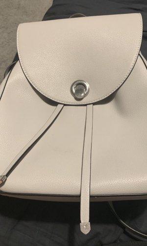 Zara Sac à dos pour ordinateur portable gris clair