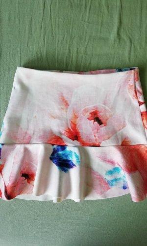 Zara Volanten rok veelkleurig