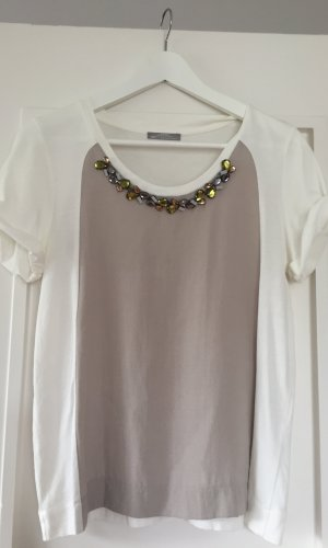ZARA Shirt mit Stein-Verzierung