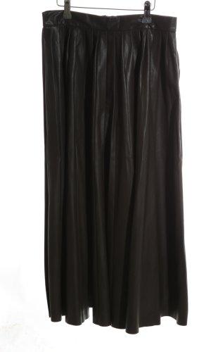 Zara Woman Jupe à plis noir style décontracté