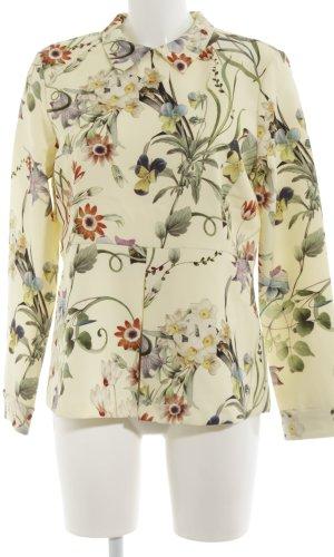 Zara Woman Langarm-Bluse Blumenmuster Elegant