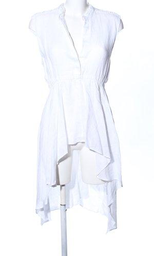 Zara Woman Lange blouse wit casual uitstraling