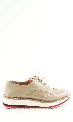 Zara Woman Zapatos brogue multicolor elegante