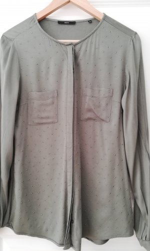 Zero Lange blouse groen-grijs