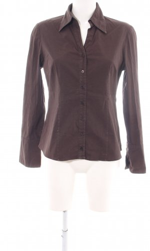 Zero Long Sleeve Shirt brown casual look