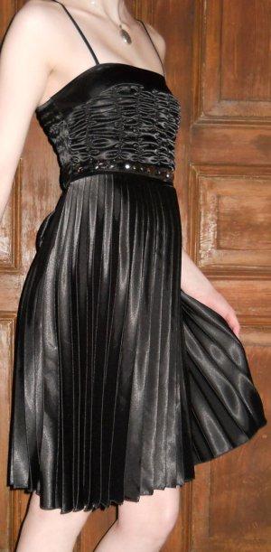 Abendkleid Cocktailkleid Minikleid Abiball Kleid Gr. 36 S schwarz gothic