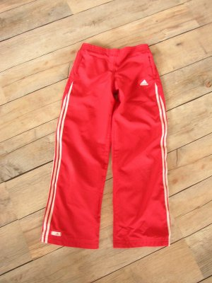 ADIDAS Sporthose rot in Gr. 140