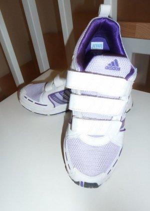 Adidas Turnschuhe weiß lila Ortholite Gr. 39 Top