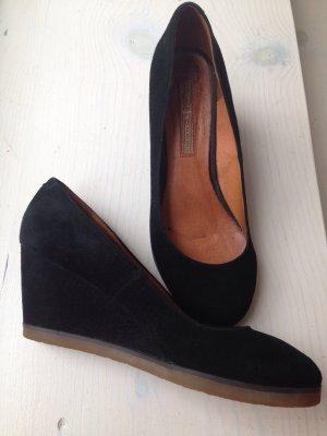 Buffalo Schuhe Wildleder Keilabsatz wie Zara