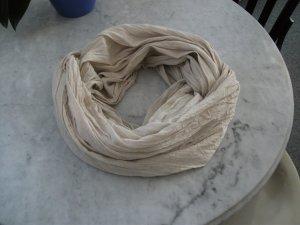 Crinkle LOOP Schal / Tuch - natur - 170x80cm - Baumwolle