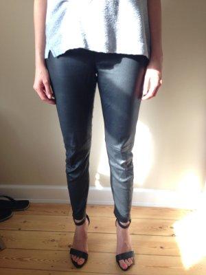 Echte Lederhose in schwarz