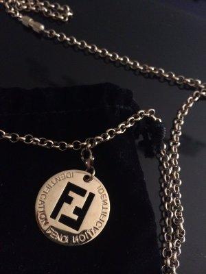 FENDI gold kette mit FF logo