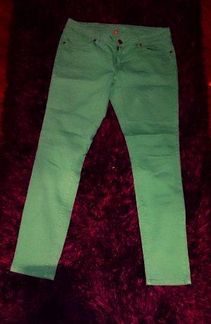 Grüne Fishbone - Hose