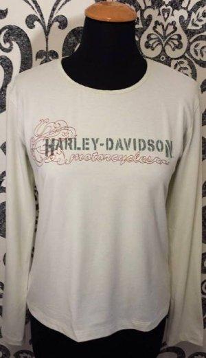 Harley Davidson Shirt in Beige in Gr. L