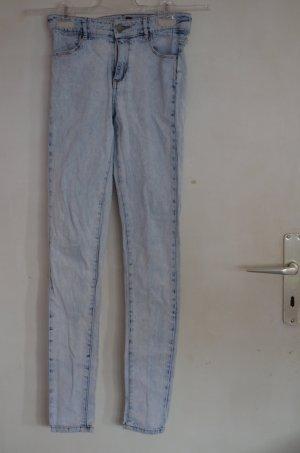 High waist Jeans Hellblau Gr. XS 34 Blogger Hipster