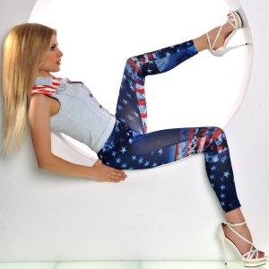 I Love my Style.... Mach eine Aussage - Hingucker Leggings - Größe One Size