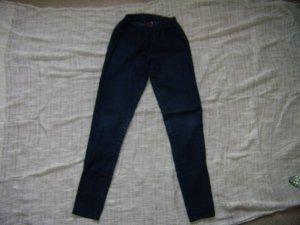 Jeansleggings dunkelblau