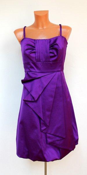 Karen Millen Signatur Kleid Gr. 42 44 UK16 lila wie neu