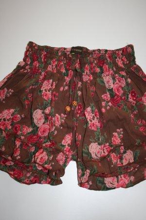 kurze geblümte Shorts XS-M