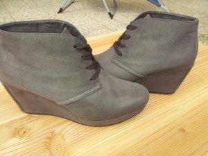 NEU s.Oliver Damenschuhe Keilabsatz Ankle-Boots, 39, taupe(braun)
