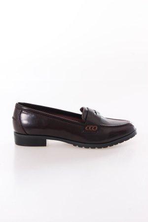Next Loafer dunkel bordeaux