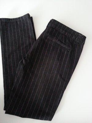 ONLY Jeans anthrazit mit Nadelstreifen 28/32