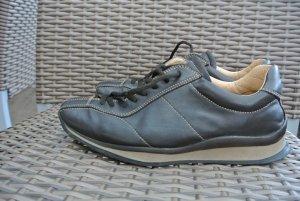 Original PRADA Milano Designer Echt Leder Sneacker Schuhe Gr.36,5