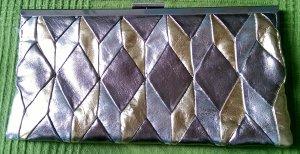 Party Handtasche / Clutch von Accessorize in gold-silber Farben