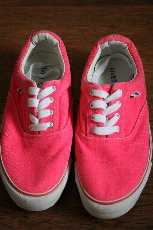 pinke River Island Schuhe