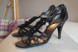 schöne Sandaletten mit Steinchen Gr. 39