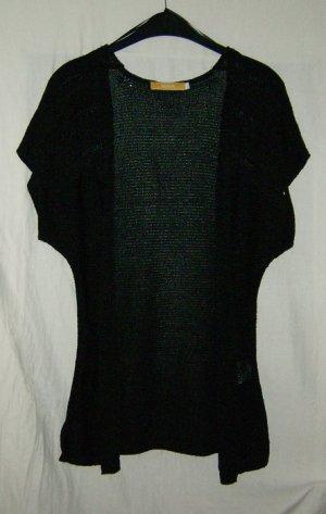 Schwarze Strickjacke Biba