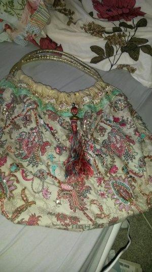 Tasche, Strandtasche, Accessorize , pink, türkis