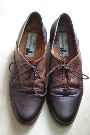 Tolle vintage Schnürschuhe aus Leder (second hand)