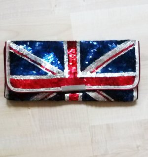 Union Jack Pailletten Clutch von accessorize