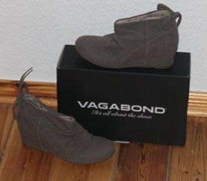 Vagabond Schuhe mit Keilabsatz in grau - Größe 38