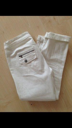 weiße s.Oliver 3/4 Jeans