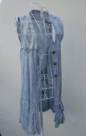 """☸ڿڰۣ -tolle ärmellose Bluse... Weste von """"Elisa Cavaletti"""" in Vintage Optik Gr. S /36 -neuwertig-"""