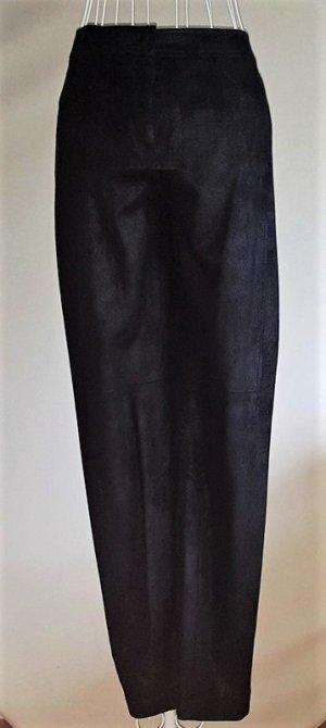 Luisa Cerano Pantalon fuselé noir tissu mixte