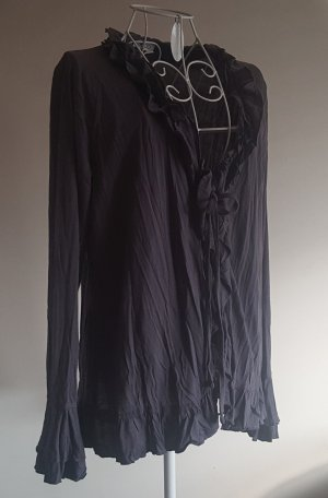 """☸ڿڰۣ- tolles Blusenshirt ...Weste im Barock Style von """"Gelco""""  Gr. 40/42 -top-"""