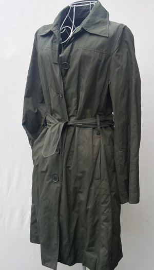 "☸ڿڰۣ -Trenchcoat Sommer-Mantel von ""More & More"" khaki Gr. 36 -TOP-"