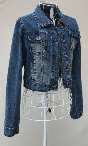 """ღღ trendige Short Jeansjacke von """"Street one"""" Gr. 36 -neuwertig-"""